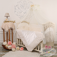 Балдахин на детскую кроватку  Baby chic цвет Жемчужный