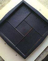 Формы для тротуарной плитки квадрат «Четыре кирпича» заказ от 50 штук