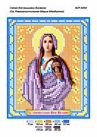 """Схема для частичной вышивки бисером 15х12 см  """"Св. Равноапостольная Мария Магдалена"""""""