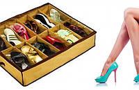 Удобный органайзер для обуви shoes under (Шузандер)