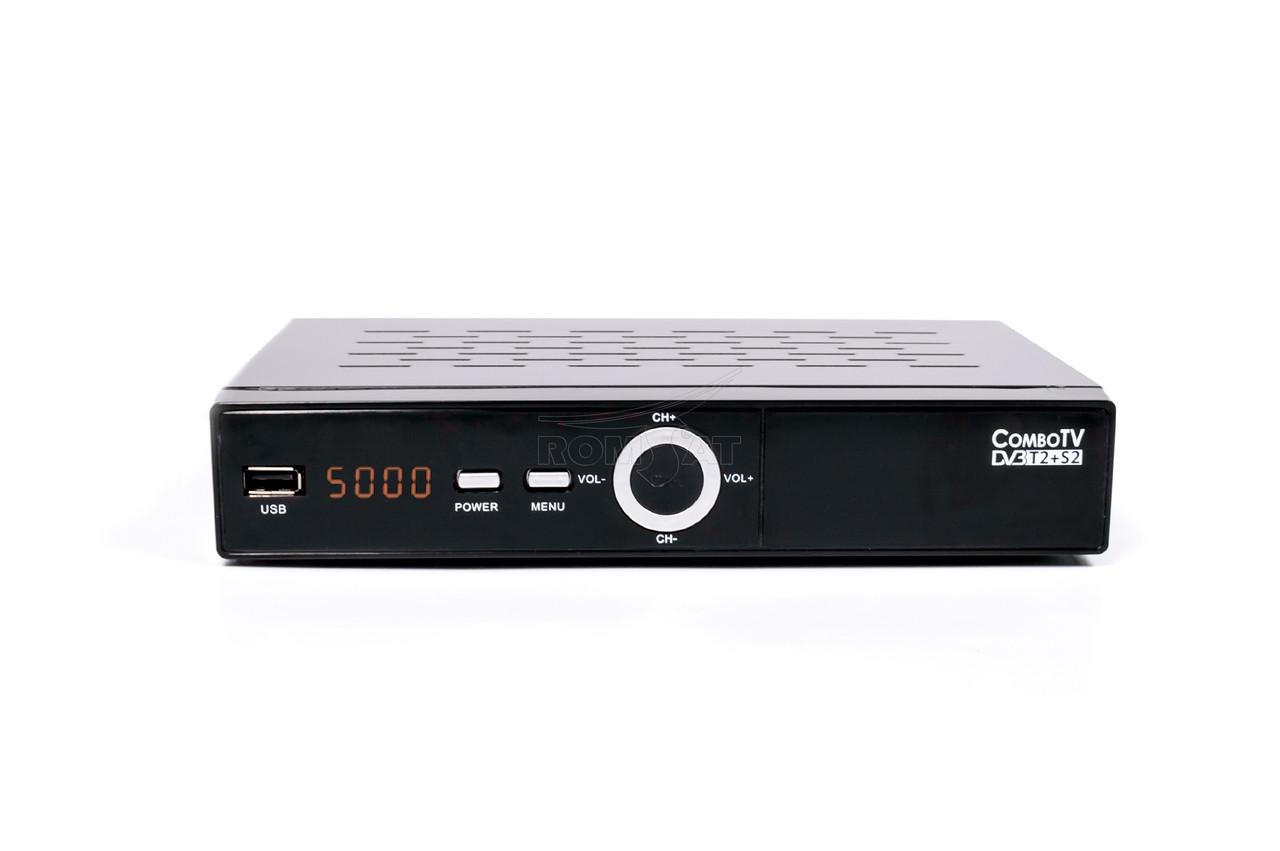 Romsat ComboTV DVB-T2/S2 - спутниковый комбинированный тюнер, фото 1
