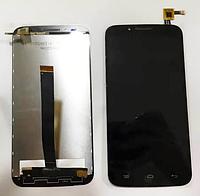 Оригинальный дисплей (модуль) + тачскрин (сенсор) для UMi eMAX (черный цвет)