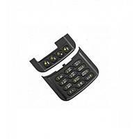 Клавиатура (кнопки) Nokia N 86 черная