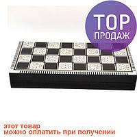Шахматы, шашки и нарды 3 в 1, W5009d / Настольные игры