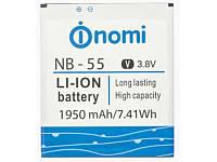 Аккумулятор (Батарея) Nomi i505 Jet NB-55 (1950 mAh) Оригинал
