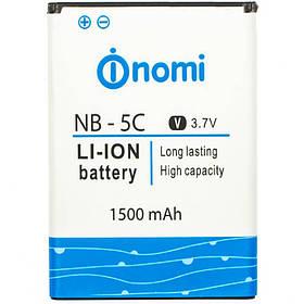 Аккумулятор (Батарея) для Nomi NB-5C Nomi i300 (1500 mAh)