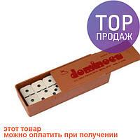 Домино в деревянной упаковке / Настольные игры