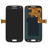 Дисплей (экран) для Samsung i9190 Galaxy S4 mini/i9192/i9195 + с сенсором (тачскрином) синий