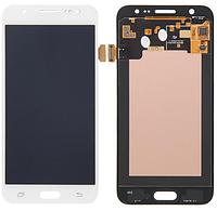 Дисплей (экран)для Samsung J200F Galaxy J2, J200G/J200H/J200Y + с сенсором (тачскрином) белый Оригинал