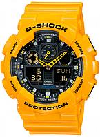 Мужские часы Casio G-Shock GA-100A-9A Касио противоударные японские кварцевые