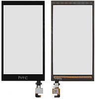 Сенсор (тачскрин) для HTC 620G Desire Dual Sim черный Оригинал