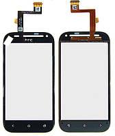 Сенсор (тачскрин) для HTC C520e One SV/T528t черный