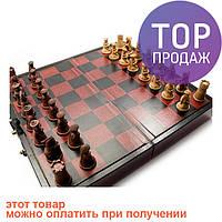 Шахматы антик (Японская битва самураев), 33 см х 33 см / Настольные игры