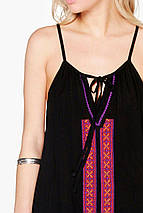 Новое платье свободного силуэта с вышивкой Boohoo, фото 3