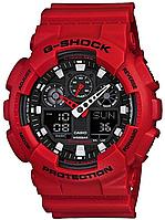 Мужские часы Casio G-Shock GA-100B-4A Касио противоударные японские кварцевые