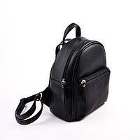 Женский черный рюкзак М124-47, фото 1