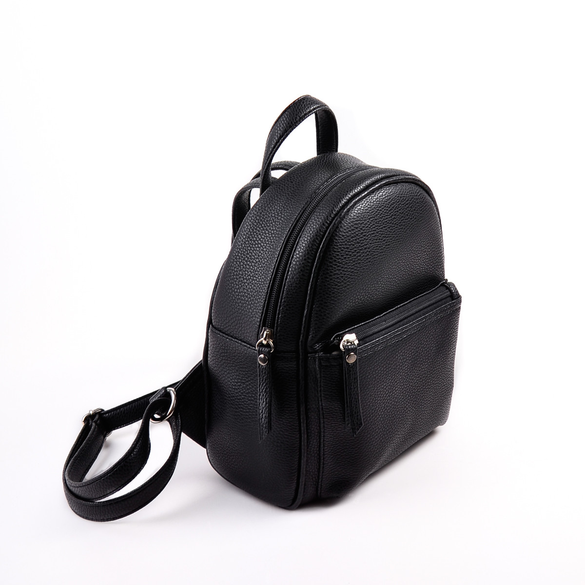 b9c28378c903 Женский черный рюкзак М124-47, цена 370 грн., купить в Луцке — Prom ...