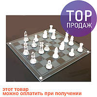 Игра в подарок — Шахматы стеклянные 20 х 20 см / Настольные игры