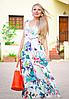 Летнее платье с кружевом цветочное лето, фото 2