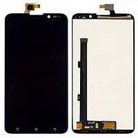 Дисплей (экран) для Lenovo S938/S939 + с сенсором (тачскрином) черный