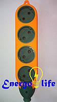 Удлинитель для строек / Колодка 2х сторонняя 4гн на 4гн б/з латунь, ST 67-4