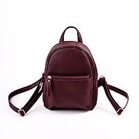 Женский бордовый рюкзак М124-38, фото 1