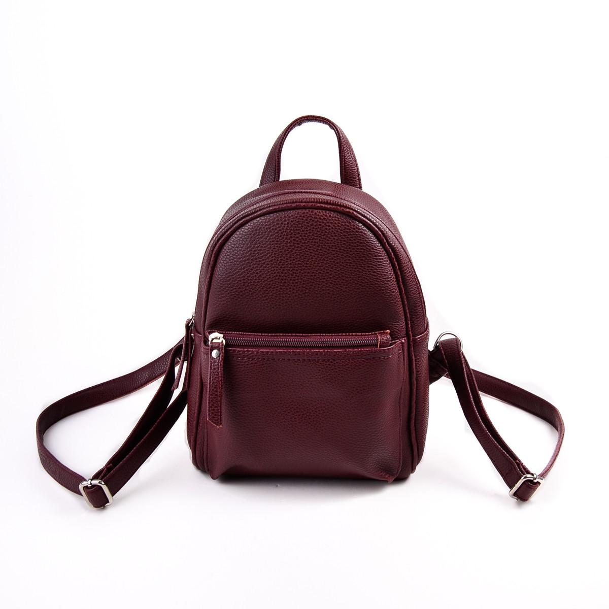 Купить женский бордовый рюкзак М124-38 в интернет-магазине «Камелия» a90bdd05c80