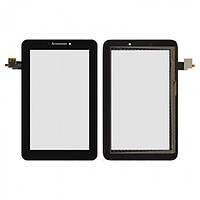 Сенсор (тачскрин) для планшета Lenovo A2107A IdeaTab/A2207/A2207A черный Оригинал