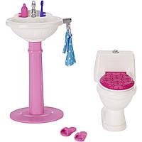 Мебель для Барби набор для ванной комнаты / Barbie Bathroom Set