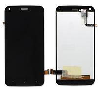 Оригинальный дисплей (модуль) + тачскрин (сенсор) для UMi London (черный цвет)
