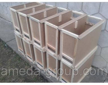 Ящик для перевозки пчелопакетов
