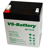 Аккумуляторная свинцово-кислотная батарея VS-Battery VS GP 12-4,5