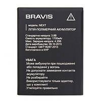 Аккумулятор (Батарея) для Bravis Next (1700 mAh) Оригинал