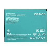 Аккумулятор (Батарея) для Bravis Omega (2000 mAh) Оригинал