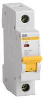 IEK Автоматический выключатель ВА47-60 1P 10А 6 кА х-ка B (MVA41-1-010-B)