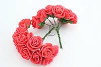 Розы из латекса 12 шт