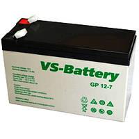 Аккумуляторная свинцово-кислотная батарея VS-Battery VS GP 12-7