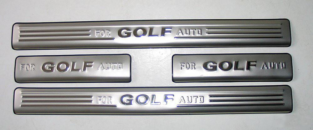 Volkswagen Golf накладки на пороги VOLKSWAGEN Фольксваген VW Golf 7