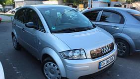 🚘 Чехлы на сиденья Audi A2 экокожа алькантара