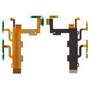 Шлейф для Sony D2502 Xperia C3 Dual, D2533 Xperia C3 Dual, кнопки включения, боковых клавиш, микрофона
