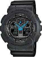 Мужские часы Casio G-Shock GA-100C-8A Касио противоударные японские кварцевые