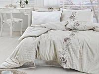 Комплект постельного белья First Choice Satin Artemis Krem, фото 1
