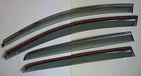 Volkswagen Golf 7 ветровики дефлекторы окон  ASP с молдингом нержавеющей стали / sunvisors
