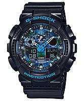 Мужские часы Casio G-Shock GA-100CB-1A Касио противоударные японские кварцевые