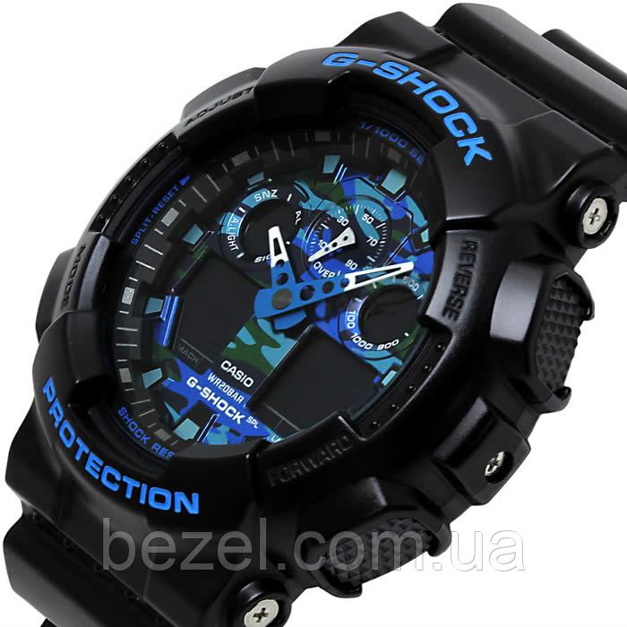 Мужские часы Casio GA-100CB-1A Мужские часы Romanson TL1250MG(WH)BN