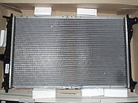 Радиатор охлаждения Lanos Лузар с конд (алюм-паяный) (LRc 0561b) ЛУЗАР