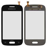 Сенсор (тачскрин) Samsung S6310 Galaxy Young, S6312 Galaxy Young Duos синий