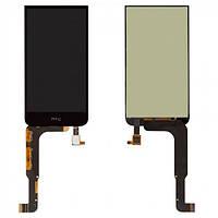 Дисплей (экран) для HTC Desire 616 Dual Sim + с сенсором (тачскрином) черный