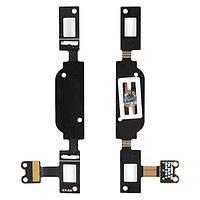 Шлейф для Samsung i8552 Galaxy Win c кнопкой меню Home и подсветкой