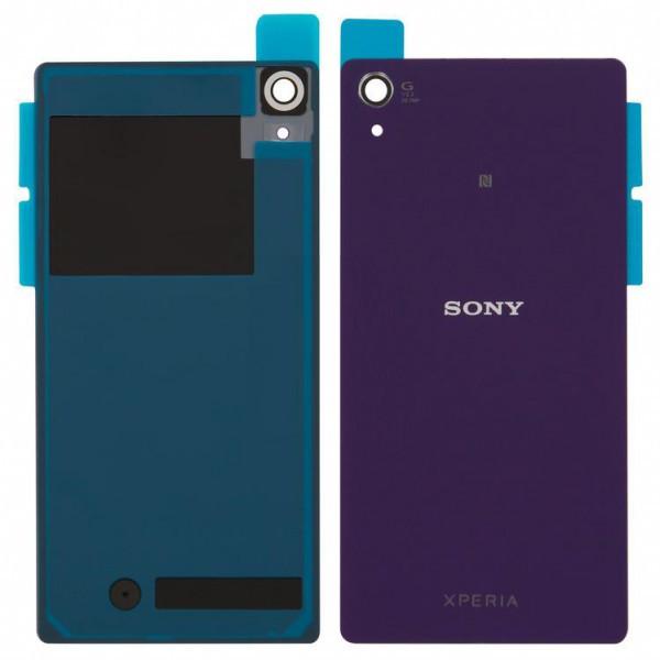 Задняя крышка для Sony D6503/D6502 Xperia Z2 фиолетовая